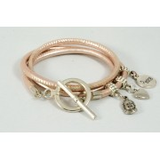 Armband BeCharmed - Roségold Metallic